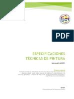 Manual Especificaciones Tecnicas Pintura ANSPI