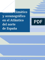 Cambio climatico en el Atlantico Norte Español