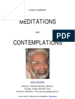 Living in Vedanta - Meditations