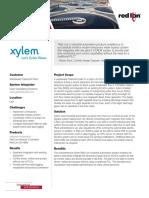 WaterWastewater - Xylem Case Study