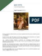 Gladiatrix ,Antigua Roma_ La Infidelidad de La Mujer Romana ( S. I )