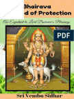 Bhairava - The God of Protection – an Expedient to Lord Bairavar's Blessings