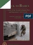 Back to Basics ~ a Study of the 2nd Lebanon War & Op CASTLEAD _Farquhar_CSI