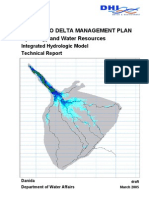 Integrated Hydrological Model for the ODMP