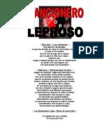 CANCIONERO LEPROSO
