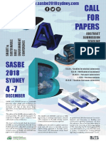 1mar - SASBE_Call for Papers