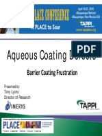 Aqueous Coating Defects