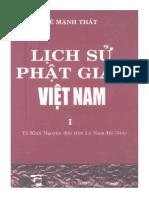 Lịch Sử Phật Giáo Việt Nam - Từ Khởi Nguyên Đến Thời Lý Nam Đế 544 - Lê Mạnh Thát