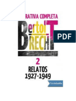 Brecht Bertolt - Narrativa Completa 2 (Relatos 1927 - 1949).doc