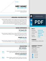 Elegant Simple Resume in Microsoft Word