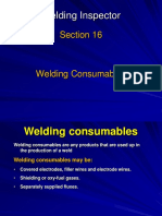 16 Welding Consumables