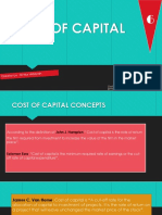 Presentasi Cost of Capital
