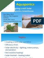 Dan Chiras-Solar Aquaponics