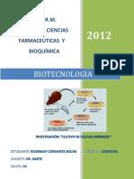 Biotecno Cultivo de Celulas