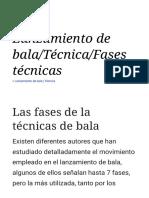 Lanzamiento de Bala_Técnica_Fases Técnicas - Wikilibros