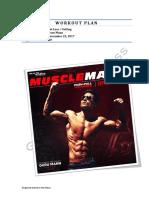 MuscleMann Workout Plan Guru Mann