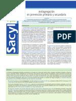 SACYLITE 2007_01_Antiagregación en Prevención Primaria y Secundaria