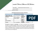 Base de Datos I - Programación Didáctica en Base a Objetivos Rev03