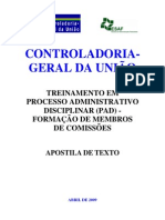 ApostilaTextoCGU - Manual de PAD