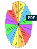 reading comprehension spinner game