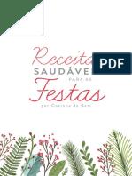 eBook Receitas Fit Natal