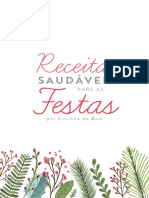 eBook Receitas Fit Natal