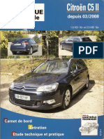 Citroen C5 II Revista tecnica Manual de taller 2008