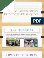 Tuberias , Accesorios y Elementos de Maquina
