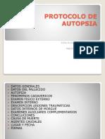 Protocolo de Autopsia