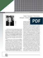 Jean_Jaques Rousseau Despre Libera Dezvoltare a Personalitatii