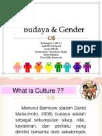 Budaya & Gender