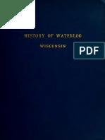 History of Waterloo Wisconsin