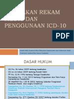 Kebijakan Rekam Medis Dan Penggunaan Icd-10