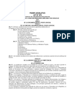 Código de Organización Judicial - Ley 879 de 1.981.doc
