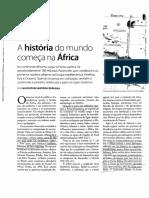 A História Do Mundo Começa Na África Pg5