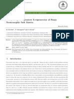 Computing the Greatest X-eigenvector of Fuzzy Neutrosophic Soft Matrix