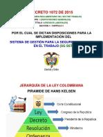 Charla Decreto 1072 de 2015 Evaluaciones Médicas Ocupacionales - Diciembre 12 de 2017