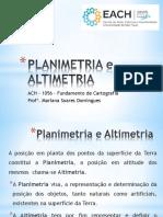 5. Altimetria e Planimetria