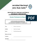 Razones y Proporciones Orlando Polo Vera