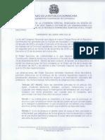 EL ABORTO CODIGO PENAL-Informe Sobre El Rechazo de Las Observacion Del Presidente