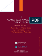IX Congreso Nacional Color Alicante
