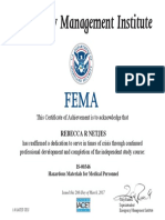 fema certification  1