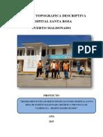 MEMORIA TOPOGRAFICA HOSPITAL SANTA ROSA PUERTO MALDONADO.pdf