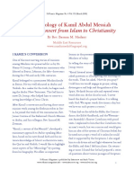 The Missiology of Kamil Abdul Messiah, by Bassam Madany