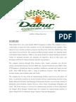Dabur India Working
