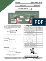 II BIM - 3er. Año - ALG - Guía 6 - Factorización I.doc