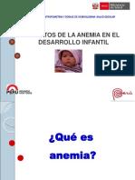 Efectos de La Anemia en El Desarrollo Infantil Chiclayo