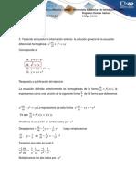 Ecuaciones Diferenciales Ejercicio 3 y 6