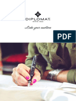Diplomat Fountain Pen Catalogue De and K 2017 Catalogue