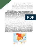 España-Organizacion Social. Sglo XVI